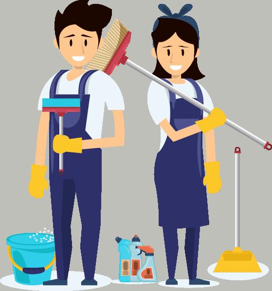 vector img main شركة نظافة اكتك للخدمات الفندقية أفضل شركة نظافة في مصر